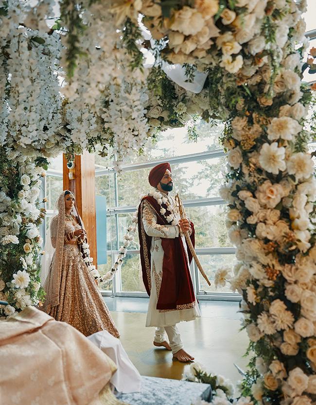 Manny Harpreet Wedding ceremony