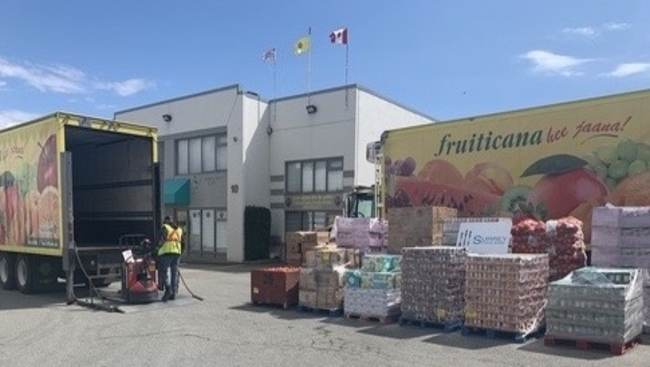 Fruiticana at Surrey Food Bank