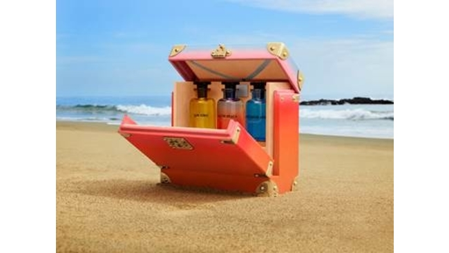 Beach perfume set